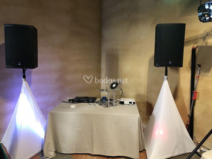 Montaje Sencillo sonido-luces