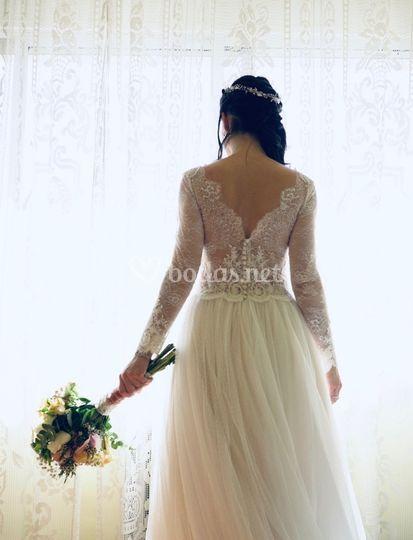 La novia espera