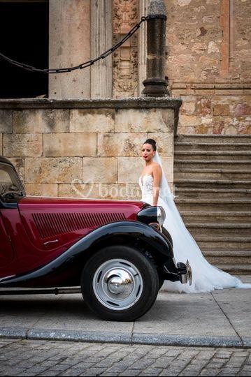 Citroën y la novia