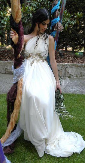 Vestidos de novia en gasa