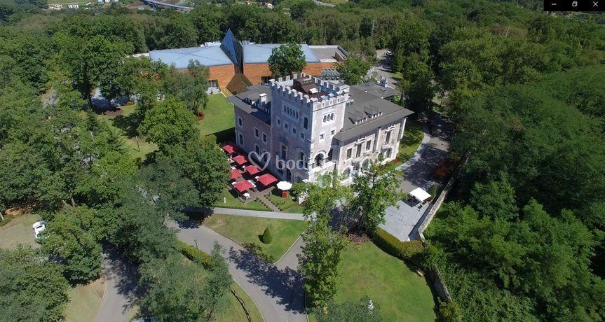 Vista aérea del Castillo