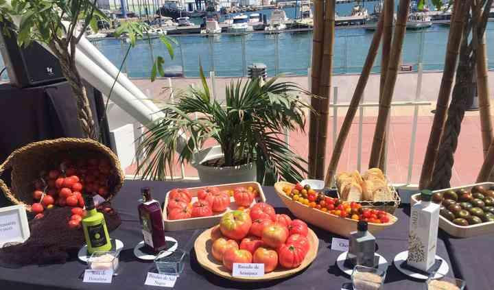 Buffet de tomates