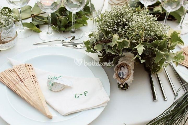 Servilletas personalizadas para el banquete de boda - Servilletas personalizadas ...