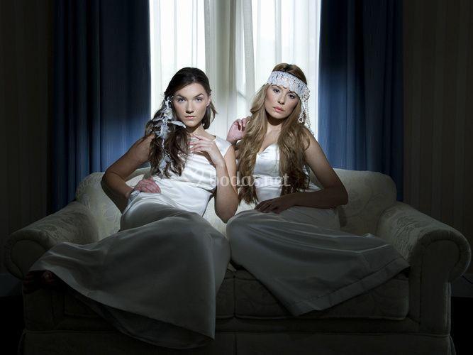 Tocados novia Aire y Sophia