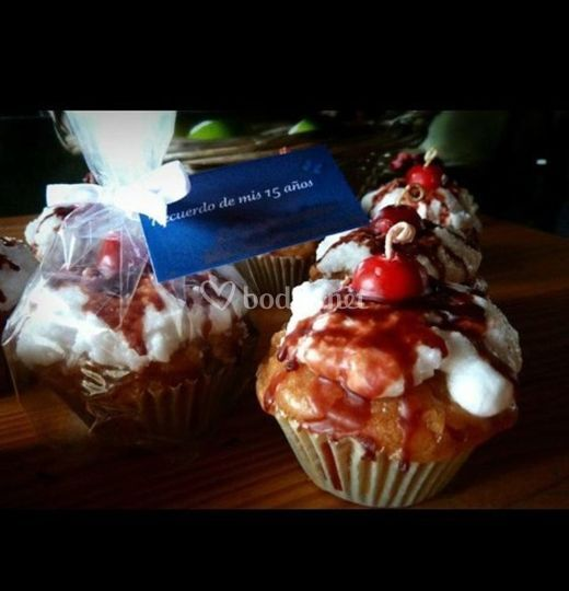 Velas muffins