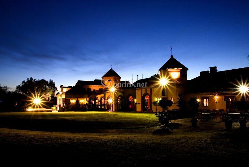 Casa Club de noche