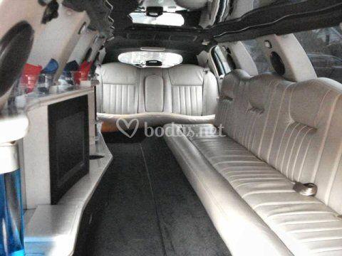 Interior Limousina