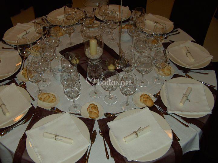 Detalle mesa- Catering Sayca (Sevilla)