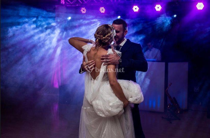Primer baile novios