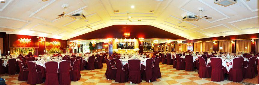 Panorámica salón clásico