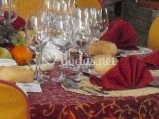 Salón de boda de Yeguada El Chaparral