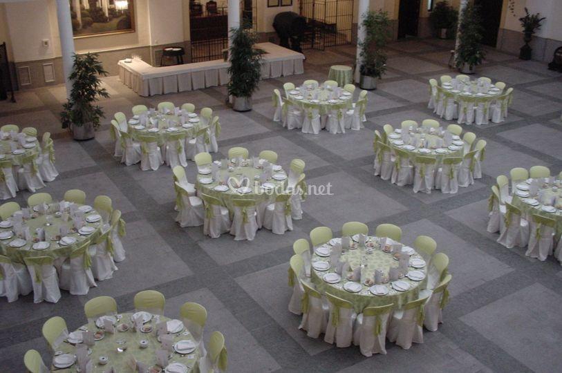 Cena en Salón Valdespino
