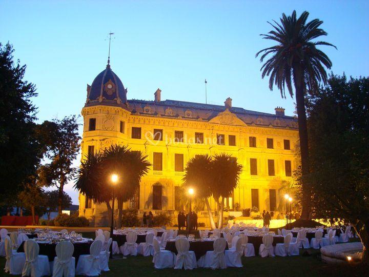 Cena de fondo el palacio