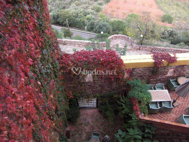 Terraza con encanto de el jard n vertical foto 11 for El jardin vertical de vilafames
