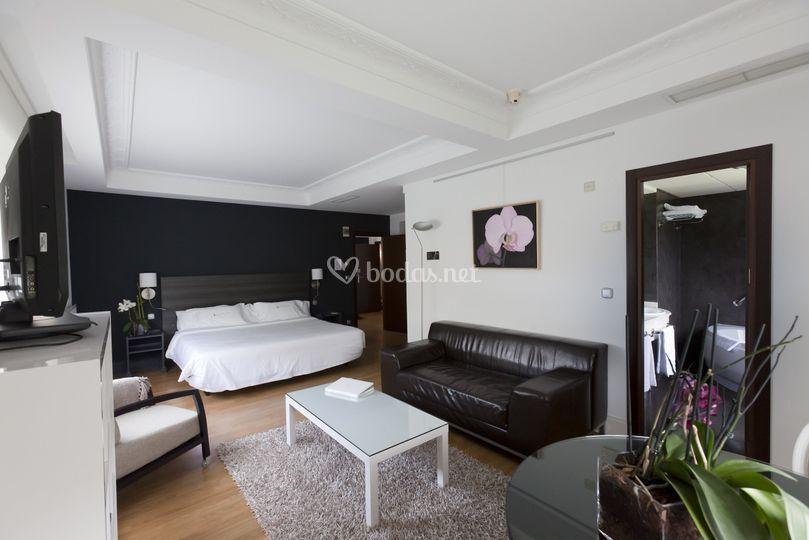 Suite del hotel río Bidasoa