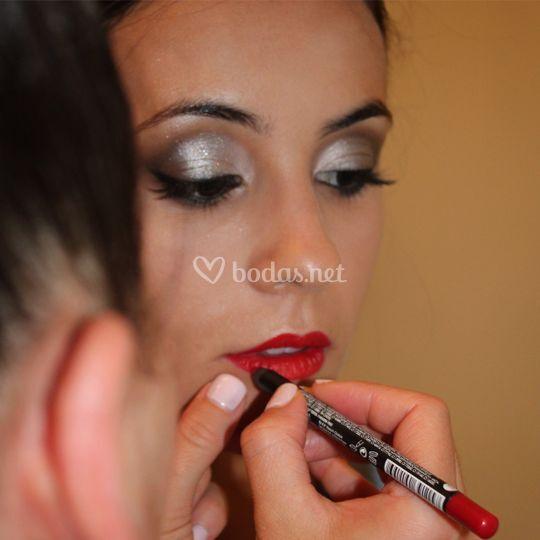 Maquillaje Dama