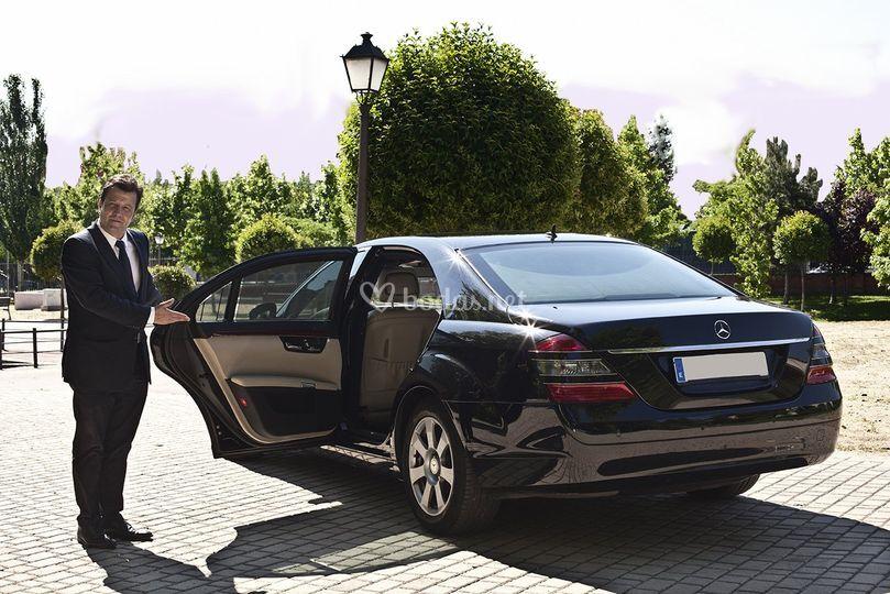 Mercedes Clase S largo