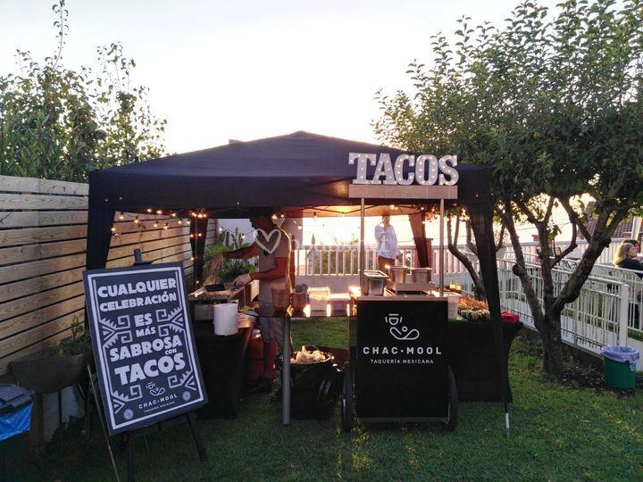Tacos en pre-bodas
