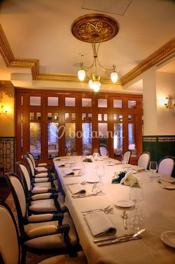 Restaurante - zona reservada