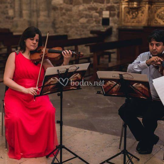Dúo de violines