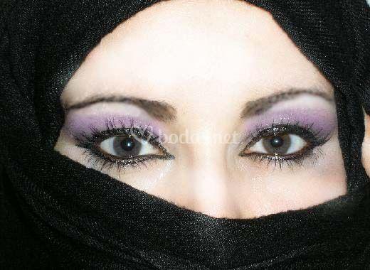 Ojos árabes