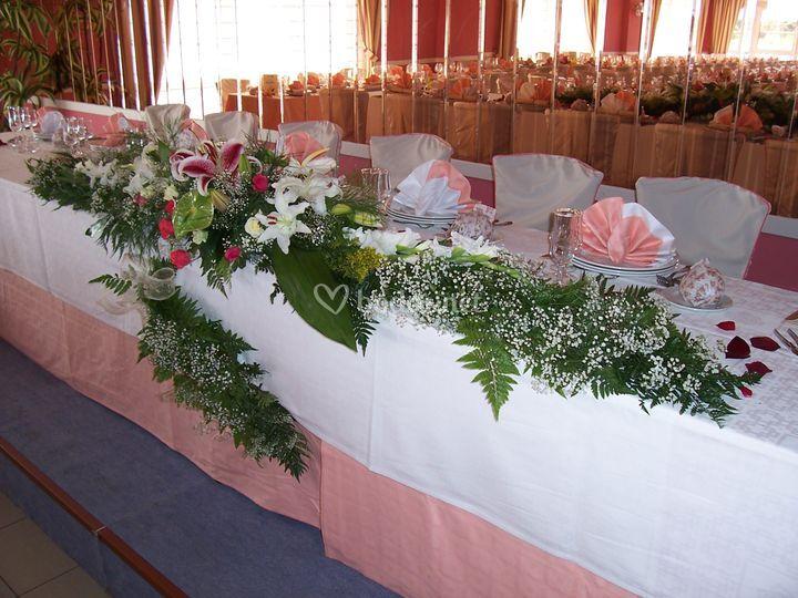 Presidencia boda