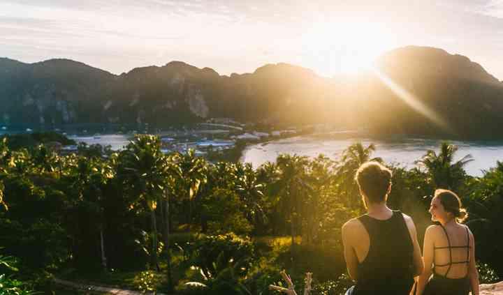 Atardecer en Koh Phi Phi
