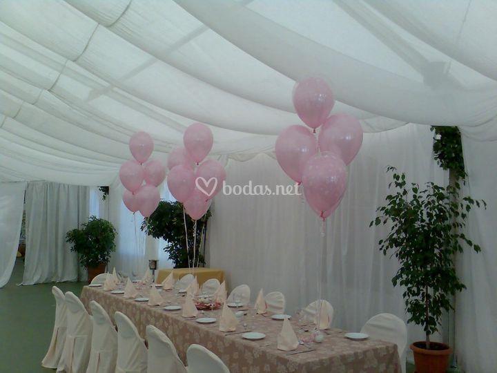 Centros de globos para decorar