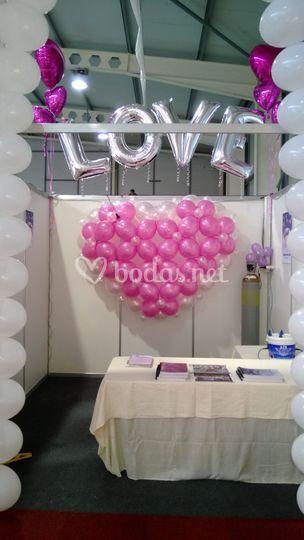 Love en feria de Novios Lleida