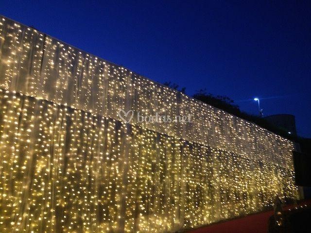 Decoración con fairy lights
