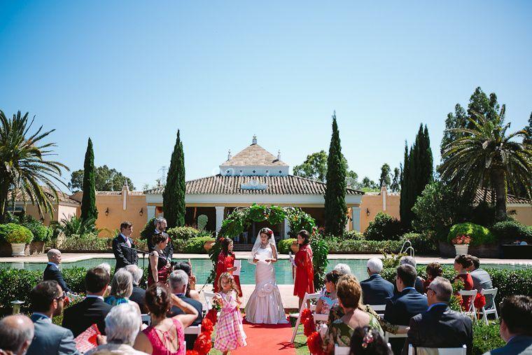 Ceremonia en Cortijo