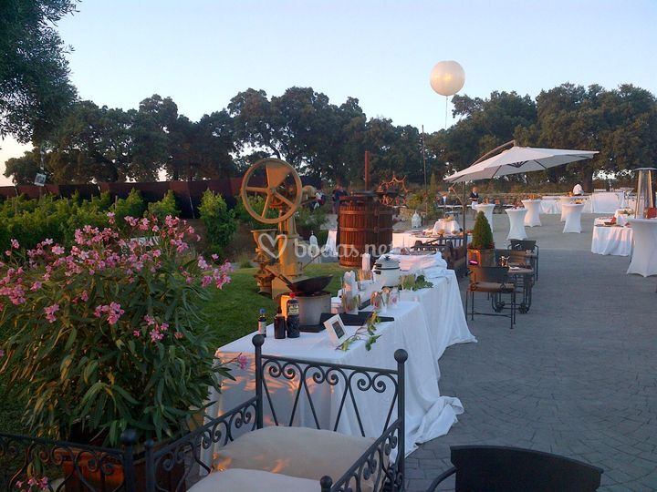 Alabardero catering for Jardin villa ronda