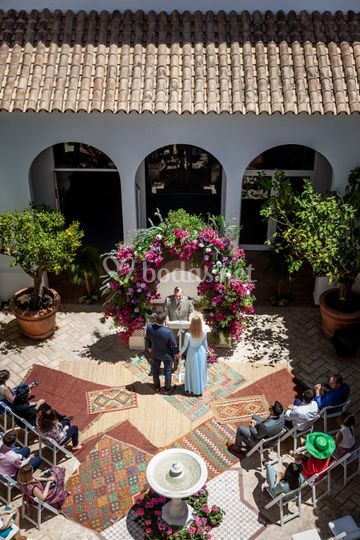 Ceremonia Patio Andaluz