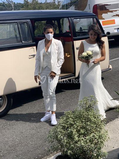 Llegada de novias