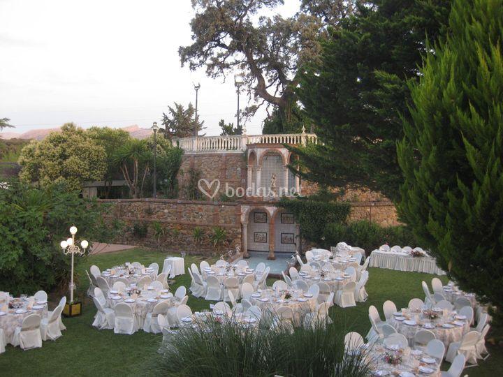 Jardín del cortijo