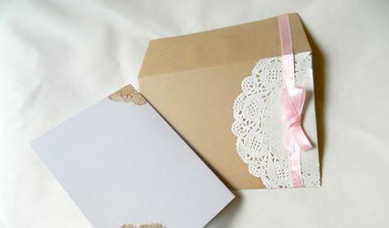 Cómo hacer invitaciones de boda vintage