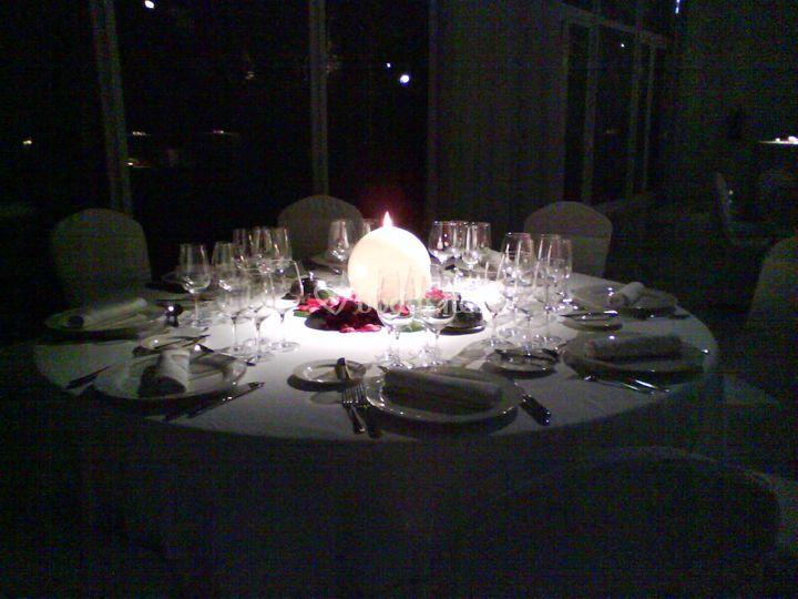 Una mesa muy especial