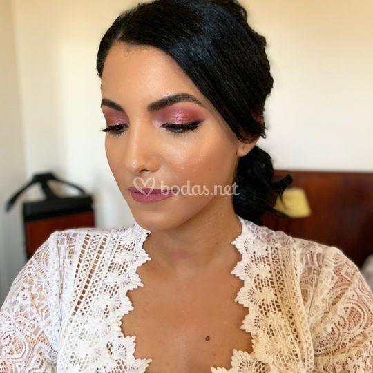 Maquillaje de Novia Glam