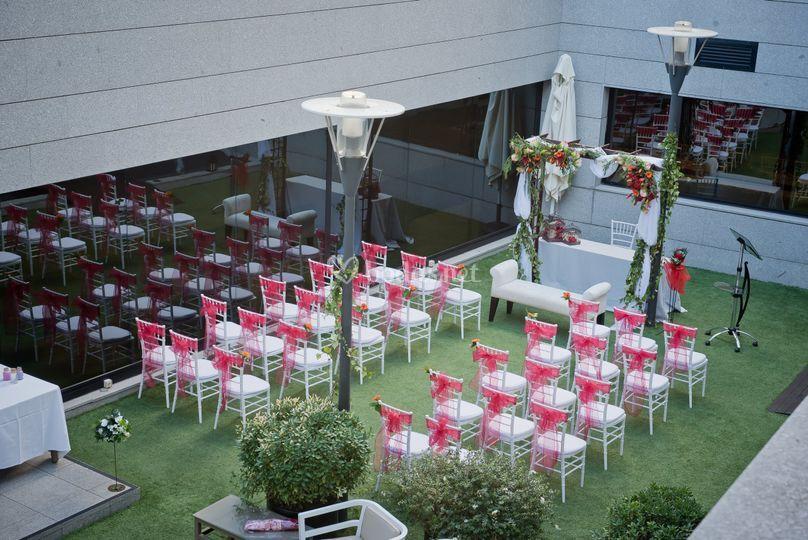 Panoramica ceremonia civil