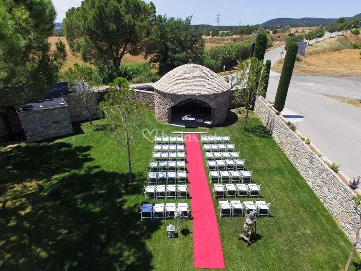 Ceremonia en el pou de glaç