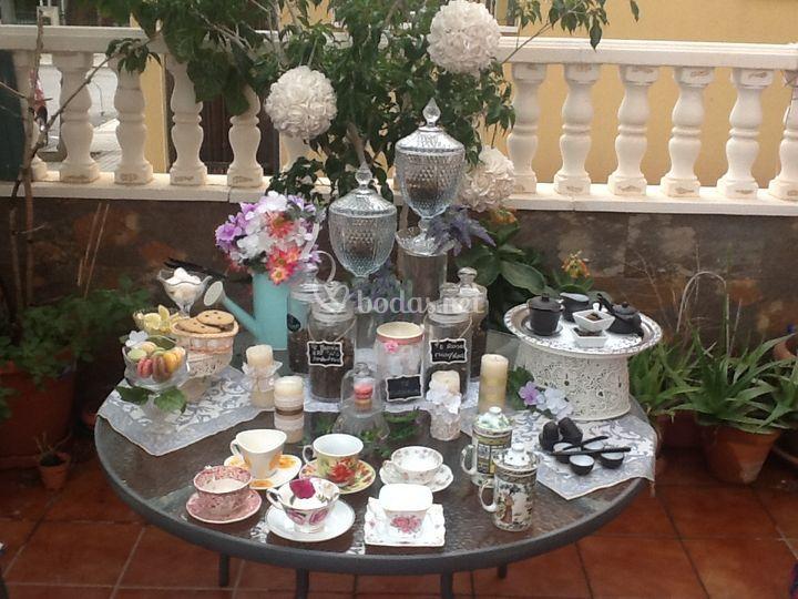 Mesa de té