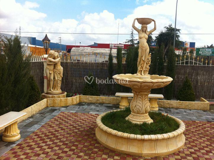 Jardín de recepción versalles