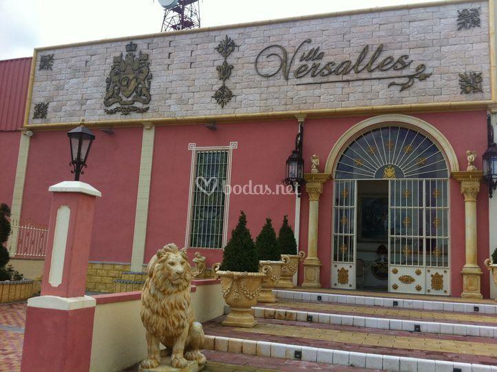 Fachada de Versalles