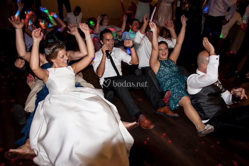 ¡Nos encanta la fiesta!