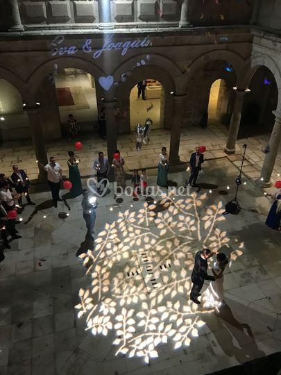 Iluminación Espectacular Baile