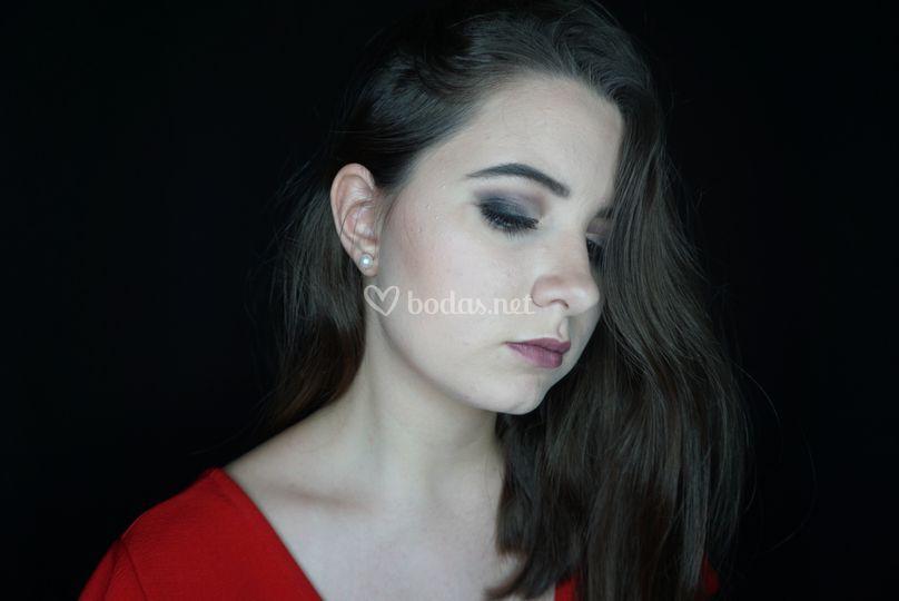 Maquillaje marcado