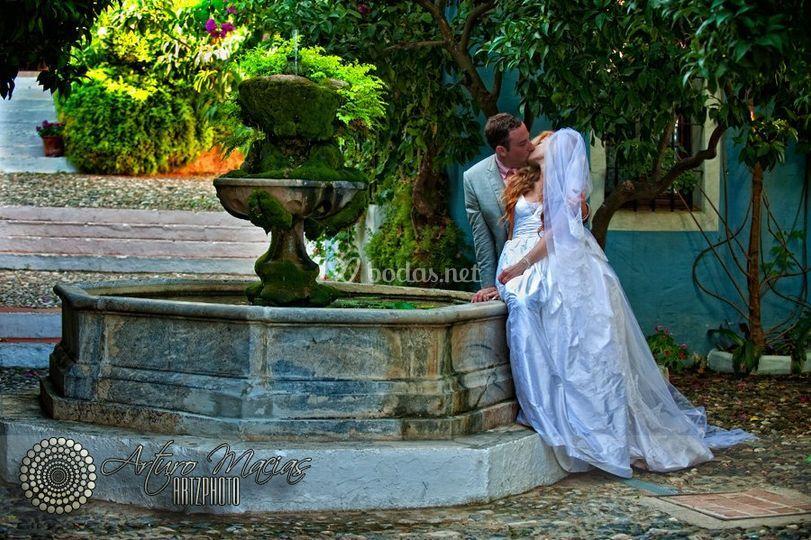 Exteriores de boda en Marbella