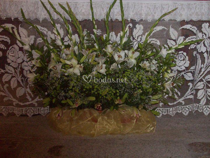 Flores en tu boda