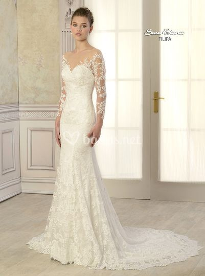 Vestidos boda sara blanco