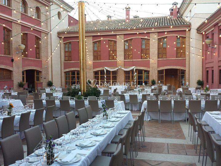 Banquete exterior Patio